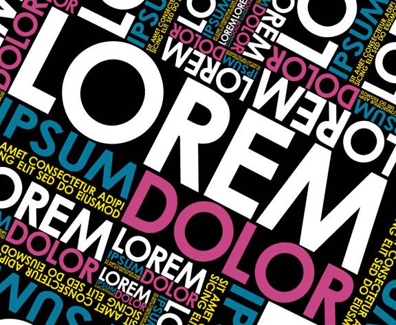 Lorem ipsum, el texto de relleno más usado en el mundo del diseño gráfico